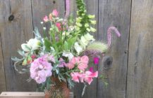 Sweet Peas & Curvy Stems